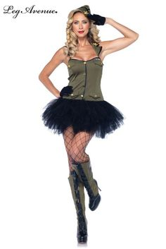 Check out our army girl costume or our kids' army costumes for Halloween. We have sexy army costumes and you can find camo costumes, too. Halloween Costume 40s, Lady Gaga Costume, Halloween Costumes Online, Halloween Outfits, Halloween Town, Halloween Ideas, Happy Halloween, Sexy Army Costume, Black Widow Costume