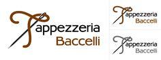 Creazione logo aziendale tappezzeria Baccelli Lucca