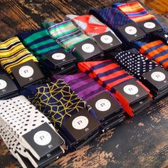 all the patterned socks!