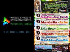 Agenda de hoy (07/07): Fiestas de Coia #Vigo... va una de Orquestas, todo un clásico en las fiestas gallegas