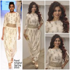 Tanisha Mukerji in Payal Singhal.