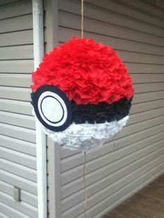 Pokemon pinata- fill with pokemon cards, candy