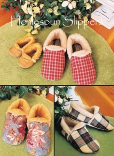 sewing slippers - Pesquisa Google