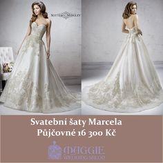 Svatební šaty Marcela, salon Maggie  www.1-svatebni-saty.cz #svatebnisaty #svatba #svatby #svatebnisalon #svatebnistudio #saty #MaggieSottero #nevesta #satypronevestu#moda#svatebnimoda
