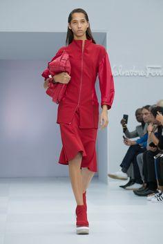 This season, the brand shows sans creative director Massimiliano Giornetti.