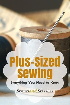 Sewing Techniques Couture Tips and tricks for Plus-Sized Sewing. Sewing Hacks, Sewing Tutorials, Sewing Crafts, Sewing Tips, Sewing Ideas, Dress Tutorials, Sewing Blogs, Techniques Couture, Sewing Techniques
