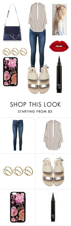 """Making an Oversized Shirt Chic"" by chicvintagegurl ❤ liked on Polyvore featuring Frame Denim, MANGO and ASOS"