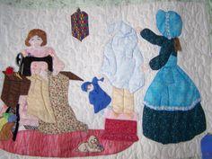 Quilts By Martha - Bonnet Girls #2