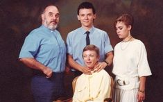 Awkward family photos are always funny...