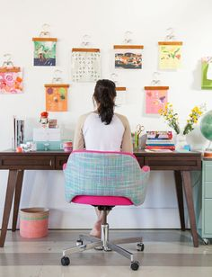 Home Crush Office Inspiration image via Oh Joy