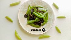Crisp and mellow snap pea in buttery flavor. It must be the best dish to try in spring/early summer!