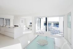 Ferreira   Verfürth Architekten - Esszimmer - Wohnzimmer