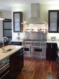 Kitchen by Nicole Sassaman - Featured Viking Kitchen Designer