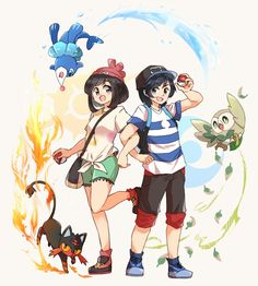 Pokemon 2015 Starters