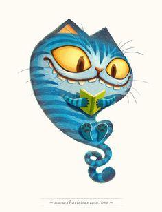 Чудес Книги - Чеширский кот от * minitreehouse на DeviantArt