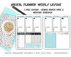Biggest Mom life hack - digital planning - fully customizable and unbelievably convenient (June & Lucy Digital Planner on Etsy) Planner Pages, Weekly Planner, Planner Stickers, Packing List Template, Movie Tracker, Any App, Information Design, Page Layout, Staying Organized