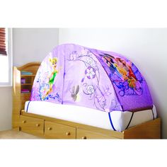Disney Fairies® Disney Fairies Bed Tent. - OMG I want this for my little one!!!! | For the kids | Pinterest  sc 1 st  Pinterest & Disney Fairies® Disney Fairies Bed Tent. - OMG I want this for my ...