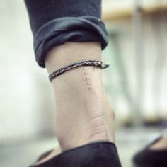 awesome Tiny Tattoo Idea - 25 Minimalist Tattoos That Are Impossibly Pretty | StyleCaster... Check more at http://tattooviral.com/tattoo-designs/small-tattoos/tiny-tattoo-idea-25-minimalist-tattoos-that-are-impossibly-pretty-stylecaster-4/