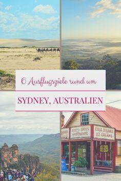 Roadtrip-Ideen rund um Sydney, von der Central Coast zu den Blue Mountains und zur South Coast. Unsere erprobten Geheimtipps zu den besten Ausflugsgebieten.
