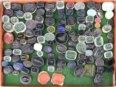 Lot of Tassie Glass Gem Seals