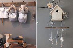 Tonos grises y elegantes para la habitación del bebé
