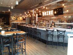 Modern Bar Area   HobNob   American Cuisine Restaurant and Bar on Fifth Avenue   Naples, Florida
