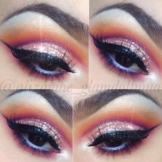 @alizajane_glamdollmua used our 120 Color 1st and 5th Edition Palettes to help create this look.