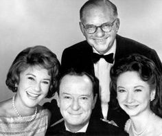 "The most clever, witty, stylish, brilliant and polite panel to ever hold court on weekly television: Arlene Francis, John Charles Daly, Bennett Cerf and Dorothy Kilgallen of ""What's My Line?"""