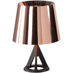 Discover modern Tom Dixon furniture & minimalist Tom Dixon lighting at HORNE, where we explore new and inventive ways to define the art of living well. Tom Dixon Lamp, Tom Dixon Lighting, Copper Lighting, Modern Lighting, Copper Table Lamp, Table Lamps, Copper Rose, Rose Gold, Tripod Lamp