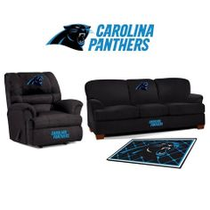 Use this Exclusive coupon code: PINFIVE to receive an additional 5% off the Carolina Panthers Microfiber Furniture Set at SportsFansPlus.com