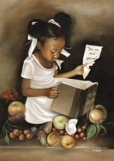 You Are What You Eat (Hers) Edwin Lester AV275  Paper: 22 x 16 Image: 20 x 14   Retail $25.00