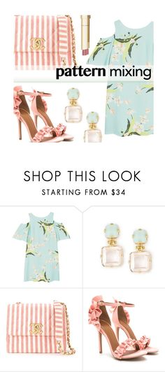 """Untitled #1382"" by kaymeans ❤ liked on Polyvore featuring MANGO, Chanel and Stila"