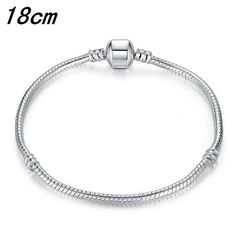 New 2016 Fashion Women's Jewelry Antique Silver Charm Beads Fit Pandora Bracelet With Heart Key Charms Beads For Girls Love Gift