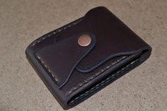 Leather Wallet-Men Wallet-Leather Card Holder by sergklim on Etsy