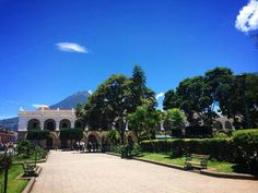 Parque de Antigua Guatemala