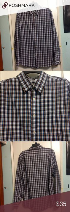 Men's Eddie Bauer Shirt This has been worn a few times but is in excellent condition. The fit is 'classic fit' Eddie Bauer Shirts Dress Shirts