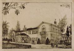 Restauro della Fagianaia per la Sede del Golf Club Milano Monza, parco reale viale Vedano 7 1928-1930