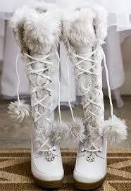 Kuvahaun tulos haulle winter wedding shoes
