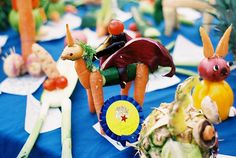 vegetable animals by Auntie Ivy's Kitchen, via Flickr