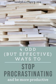 4 Weird Ways to Stop