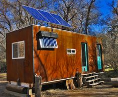 Amazing Off Grid Tiny House has No Mortgage or Utility Bills | Off Grid World