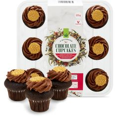 3.69 stars, 619 reviews for Woolworths Chocolate Cupcakes  9 Pack 225g on Bunch.