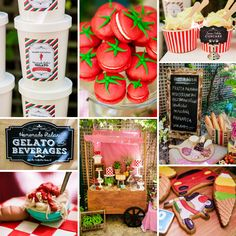 """Que bella! Li-Ann Scott of Ham design styled this """"La Dolce Vita"""" Italy Inspired Twins Birthday Party for her boys Hamish and Luca. http://hwtm.me/11K0fmV #Italy"""
