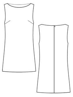 Jamie shift dress (Burda style) free- have the perfect material for this!