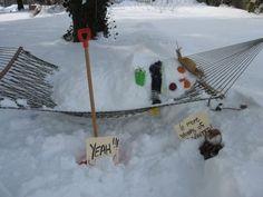 Snowcat 246 Hammock Snowman