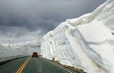 Trail Ridge Road in Colorado, taken by Ken Papaleo.