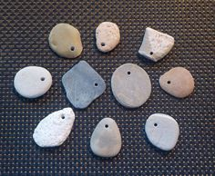 Natural Australian Drilled Beach Stones for by AllAussieOpals Australian Beach, Beach Stones, Picture Show, Drill, Craft Supplies, Natural, Projects, Crafts, Log Projects