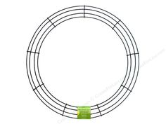 FloraCraft Wire Wreath Form 18 in. Green *This is an affiliate link.