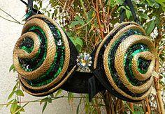 Sexy Hot Cleopatra/Medusa Snake BRA Showgirl  Burlesque Medium. $45.95, via Etsy.