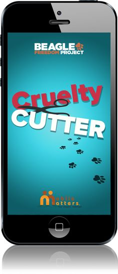 Cruelty Cutter App - scan barcode to see if product is cruelty-free for smarter and easier cruelty-free shopping